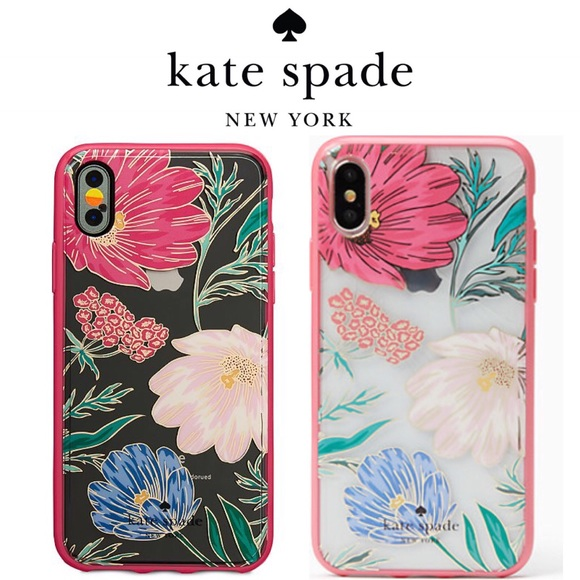 premium selection 58223 d9ab6 🆕 kate spade Blossom iPhone X Case NWT